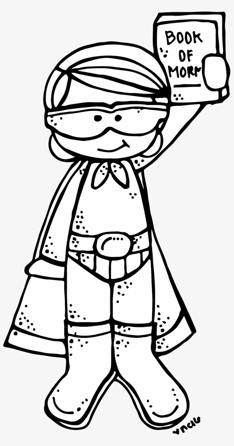Melonheadz kids superhero clipart black and white free Melonheadz Lds Illustrating - Melonheadz Superhero Clipart Black And ... free