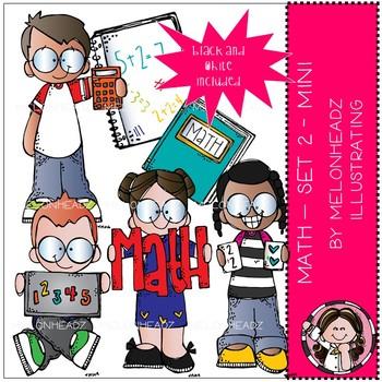 Melonheadz math clipart clip art freeuse Math clip art - Set 2 - Mini - Melonheadz Clipart clip art freeuse