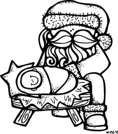 Melonheadz santa clipart black and white svg library library 391 Best MelonHeadz images in 2019 | Lds clipart, Activities, Lds ... svg library library