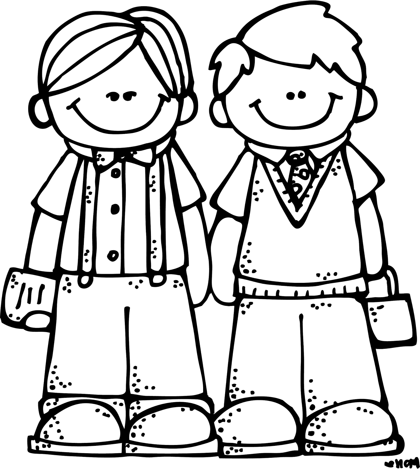 Melonheadz school clipart black and white freeuse download Melonheadz LDS illustrating: More conference inspirations ... freeuse download