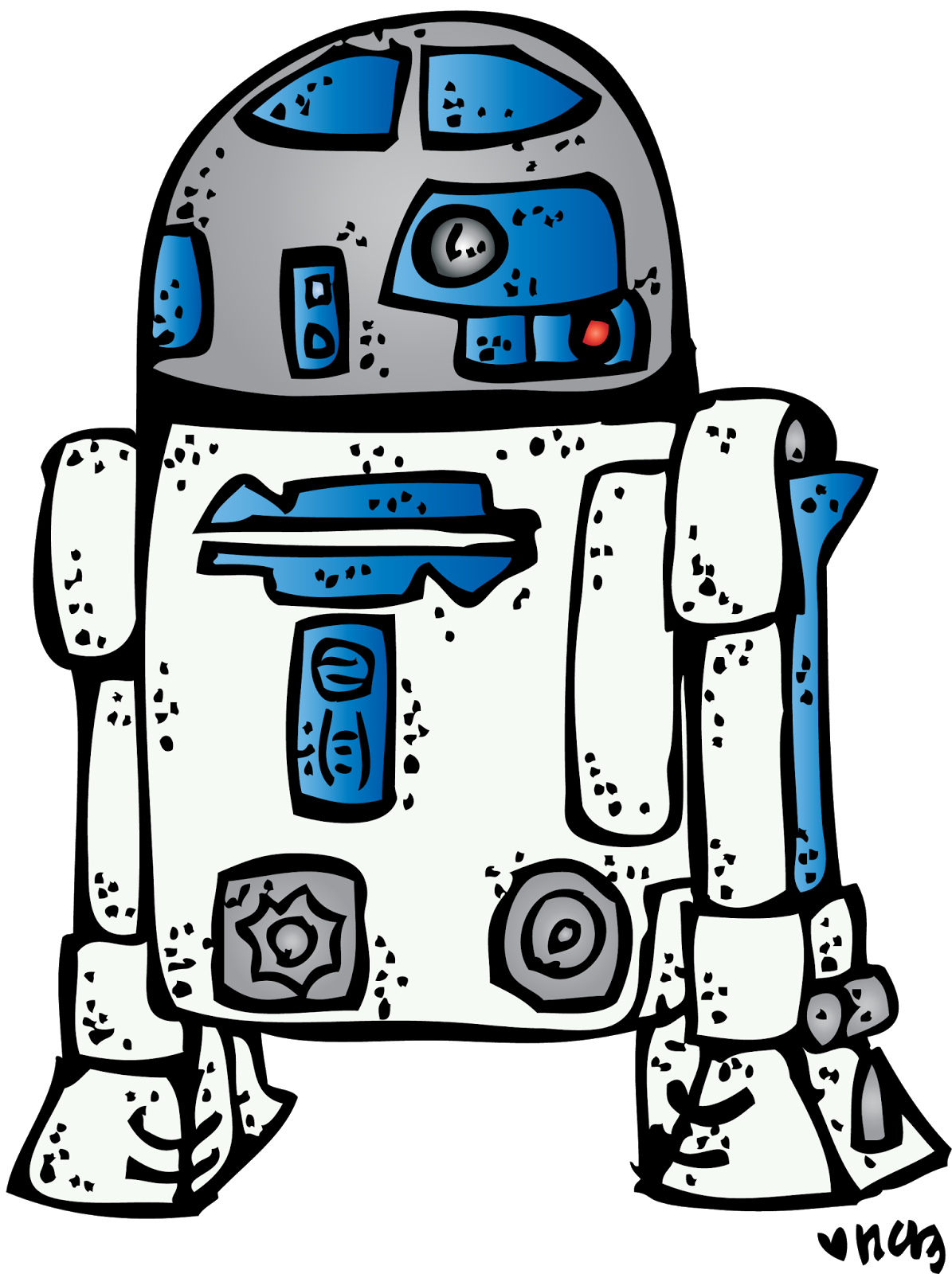 Star wars clipart r2d2 jpg library library r2d2+dress+up+(c)+melonheadz+13+colored.png 1,195×1,600 pixels ... jpg library library