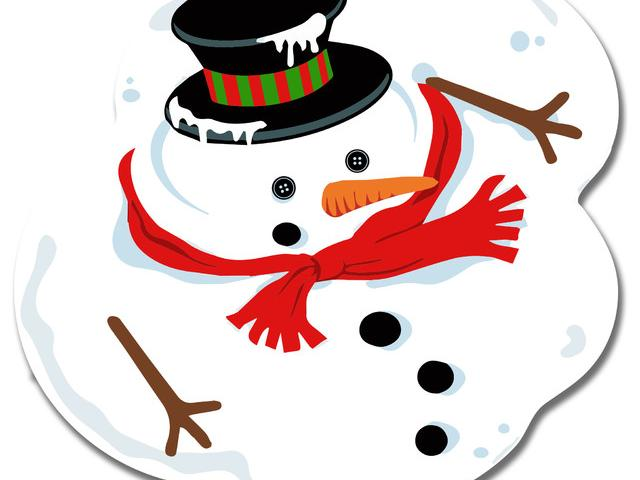 Melted snowman clipart graphic freeuse library Melting Snowman Clipart 10 - 600 X 600 - Making-The-Web.com graphic freeuse library