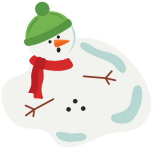 Melted snowman clipart free library Freebie of the Day! Melted Snowman Model/SKU: meltedsnowman120716 ... free library