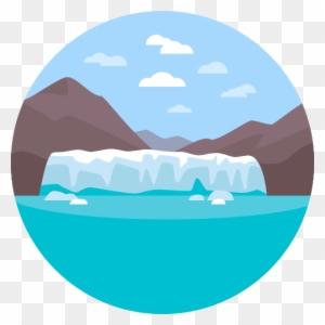 Melting glacier clipart graphic Melting Glacier Cliparts - Making-The-Web.com graphic