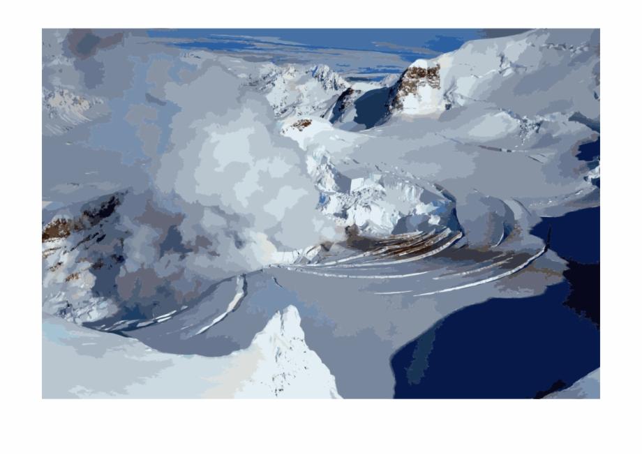 Melting glacier clipart clip art transparent stock Glacier Clipart Blue Snow - Volcanoes Melting Glaciers, Transparent ... clip art transparent stock