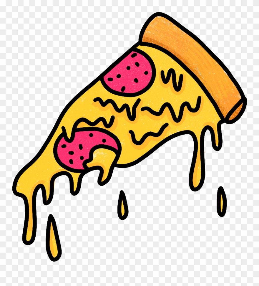 Melting pizza clipart picture transparent library Grimeart Pizza Pepperonipizza Pepperoni Cheese Melting - Picsart ... picture transparent library
