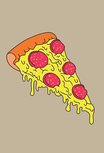 Melting pizza clipart svg royalty free Melting Pizza Slize stock vectors - 365PSD.com svg royalty free