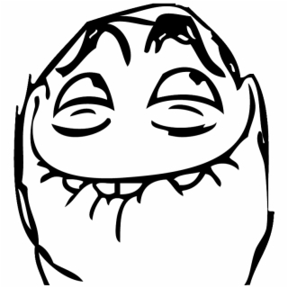 Meme faces clipart clipart stock Troll - Meme Faces - Funny Ugly Face Cartoon {#576711} - Pngtube clipart stock