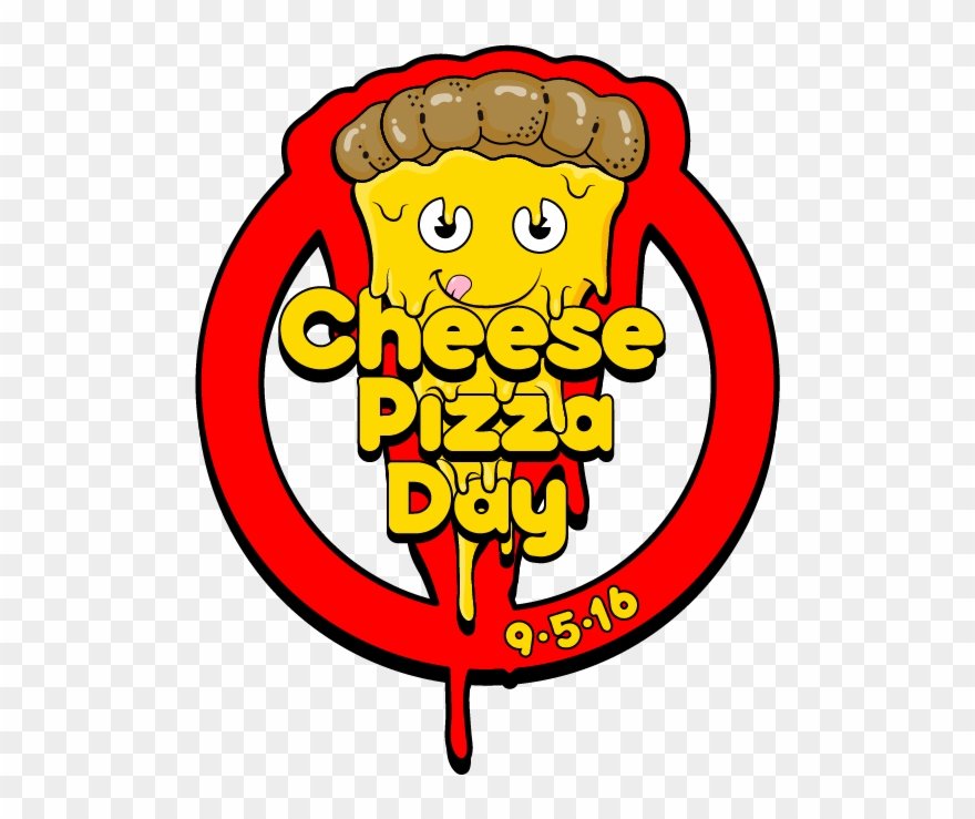 Pizza day clipart clip art royalty free download Download Cheese Pizza Day Logo - National Cheese Pizza Day Meme ... clip art royalty free download