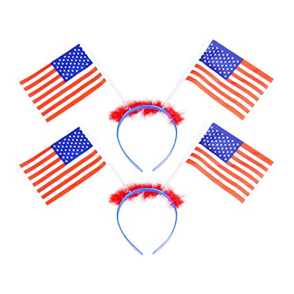 Memorial day party clipart image library 4th of July Headband Headwear Independence Day Party Favors for Fourth of  July, Memorial Day, Veterans Day,2pcs image library