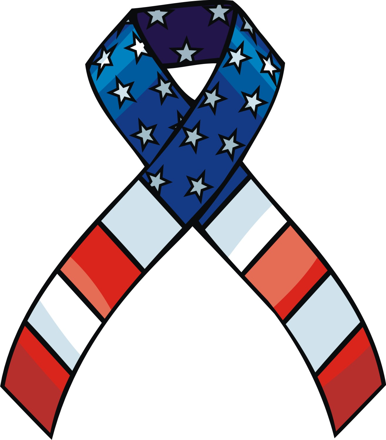 Memorial day ribbon clipart vector Memorial day ribbon clipart - ClipartFest vector
