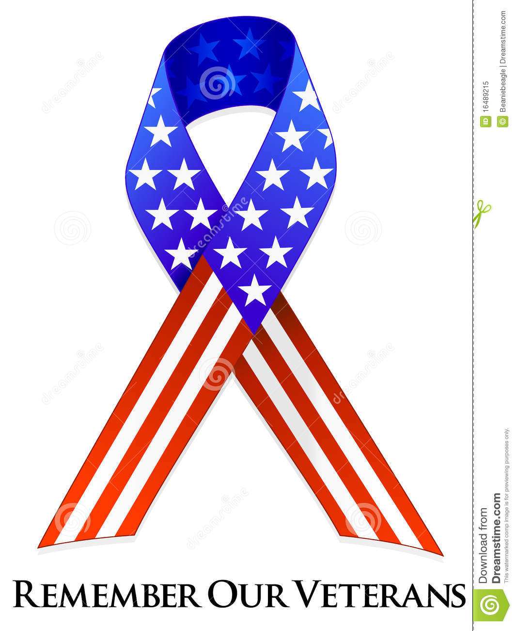 Memorial day ribbon clipart royalty free stock Veterans Day Ribbon Royalty Free Stock Photo - Image: 16489215 royalty free stock