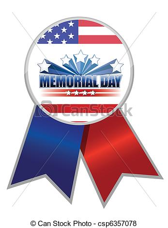 Memorial day ribbon clipart jpg library library Memorial day Illustrations and Clip Art. 11,710 Memorial day ... jpg library library