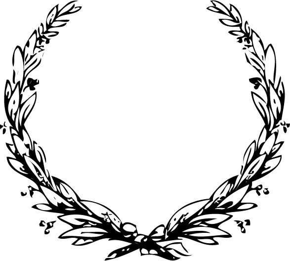 Memorial wreath clipart