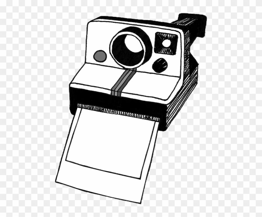 Memories clipart black and white svg royalty free download Polaroid Camera Clipart Black And White   GU2 - Memories   Polaroid ... svg royalty free download