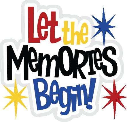 Memories clipart free vector free stock Let The Memories Begin SVG file for scrapbooking cute svg files cute ... vector free stock