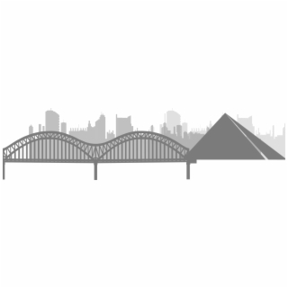 Memphis tennessee bridge clipart black & white picture black and white library HD Bridge Clipart Bridge Memphis - Memphis Bridge Clip Art , Free ... picture black and white library
