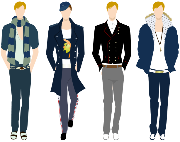 Menswear clipart clip art free download Men Clothing Design Software | DI in 2019 | Mens boots fashion, Mens ... clip art free download