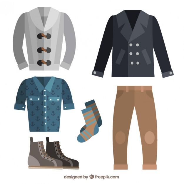 Men s clothing clipart jpg royalty free Modern men\'s clothes Vector   Premium Download jpg royalty free