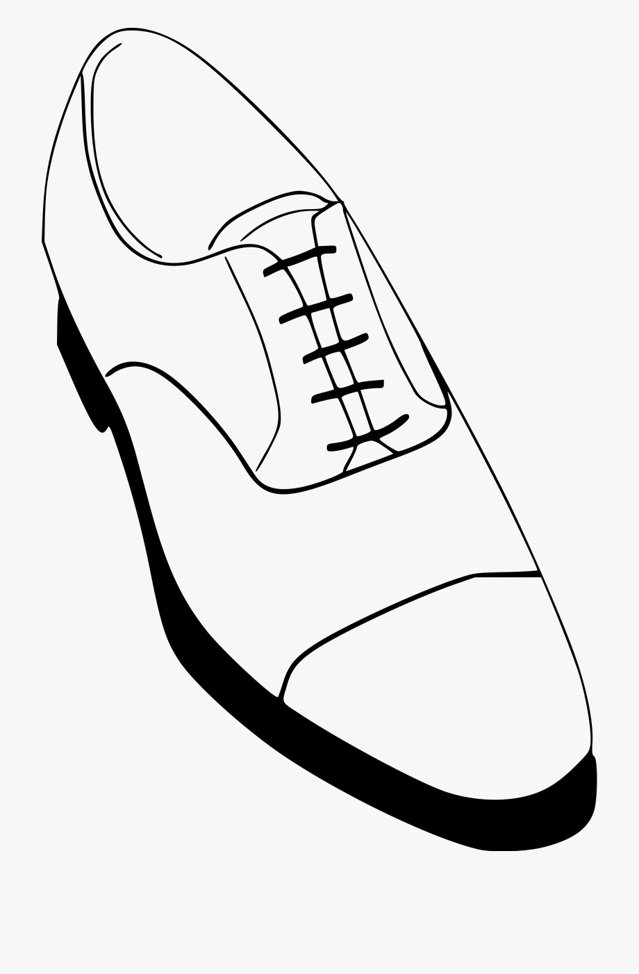 Black shoes for men clipart clipart black and white Men Shoes Clipart Blank - Mens Dress Shoes Drawing #64851 - Free ... clipart black and white