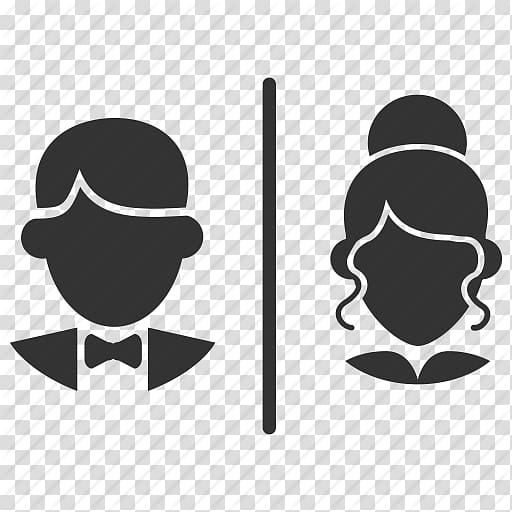 Men vs women clipart without background color royalty free stock Man and woman faces illustration, Bathroom Public toilet Female, Wc ... royalty free stock