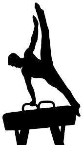 Mens gymnastics clipart png free download Image result for men\'s gymnastic silhouette pommel horse ... png free download