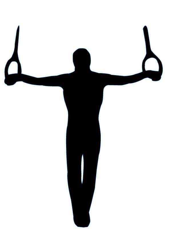 Mens gymnastics clipart clip art royalty free library Gymnastics Silhouette - 5   Silhouettes   Gymnastics images ... clip art royalty free library