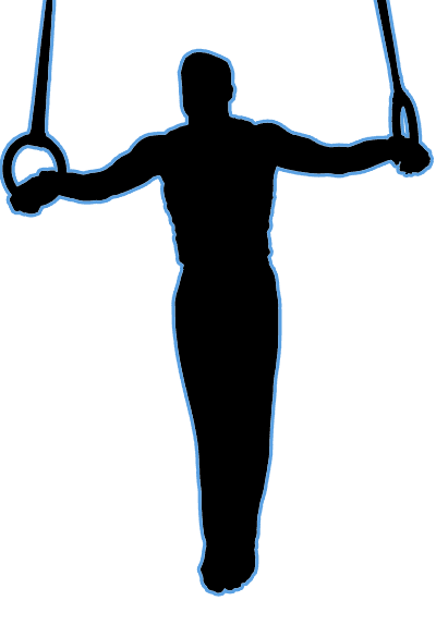 Mens gymnastics clipart vector royalty free USA Invitational   USA Youth Fitness Center vector royalty free