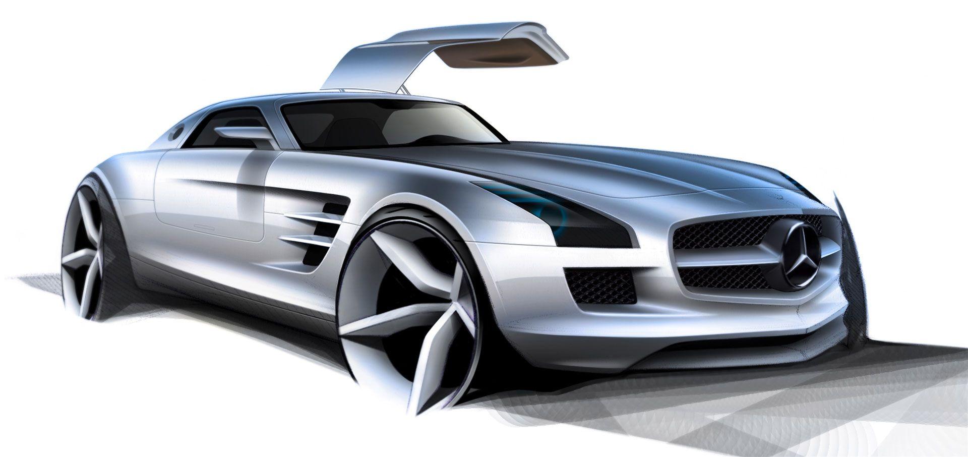 Mercedes benz sls amg clipart clip art black and white library mercedes benz sls amg design sketch | Car design sketch ... clip art black and white library