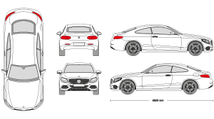 Mercedes e class clipart