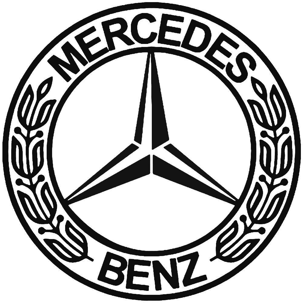 Mercedes logos clipart