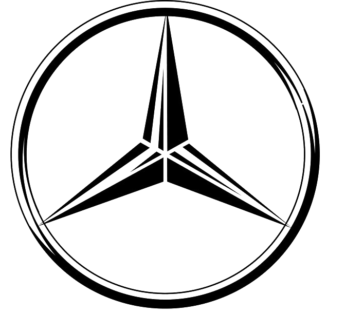 Mercedes logos clipart clipart black and white stock Mercedes logos PNG images free download clipart black and white stock