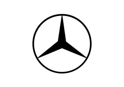 Mercedes me logo clipart stock Mercedes-Benz logo evolution | Logo Design Love stock