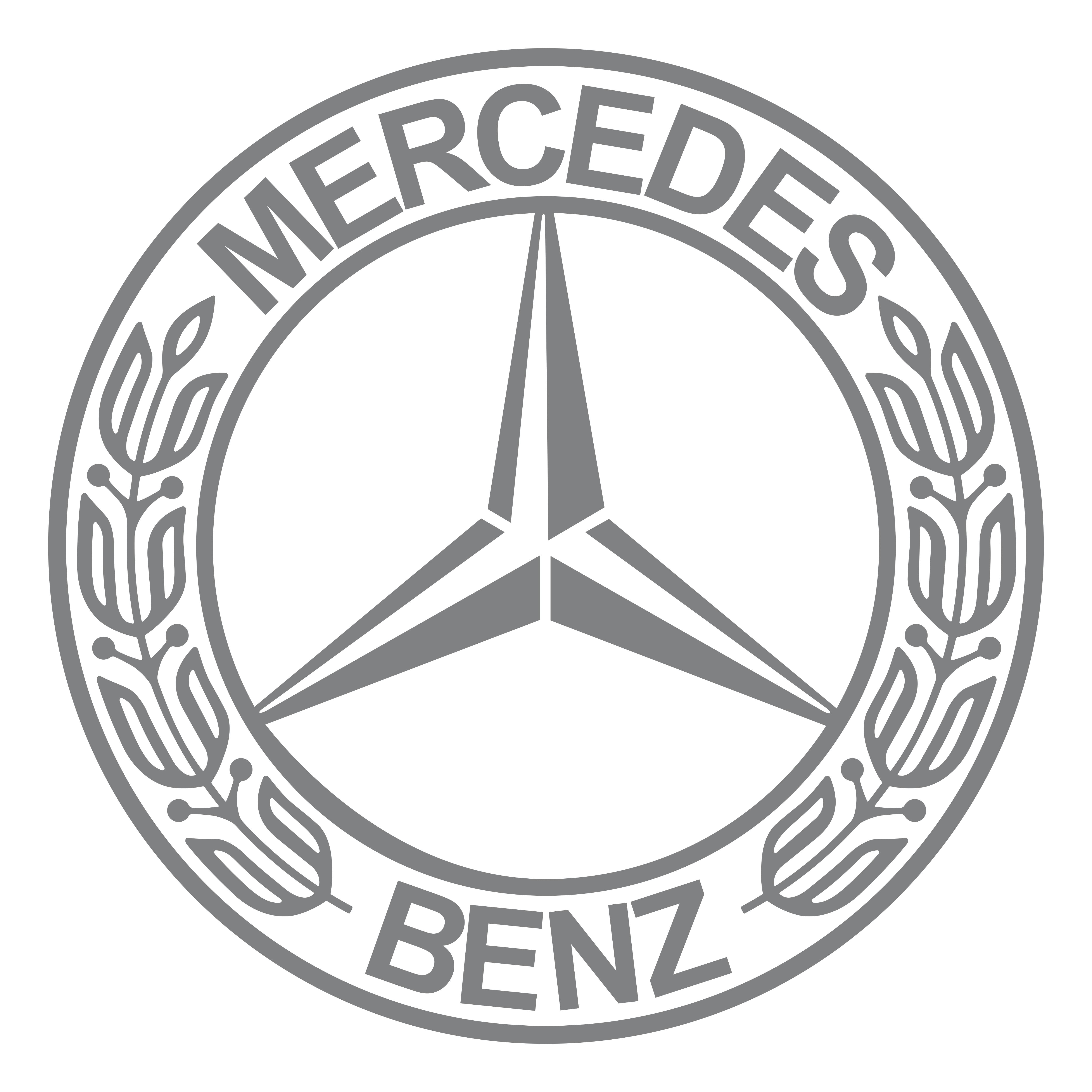 Mercedes me logo clipart vector library library Mercedes-Benz – Logos Download vector library library