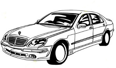 Mercedesbenz clipart svg free library Free Mercedes-Benz Clipart svg free library