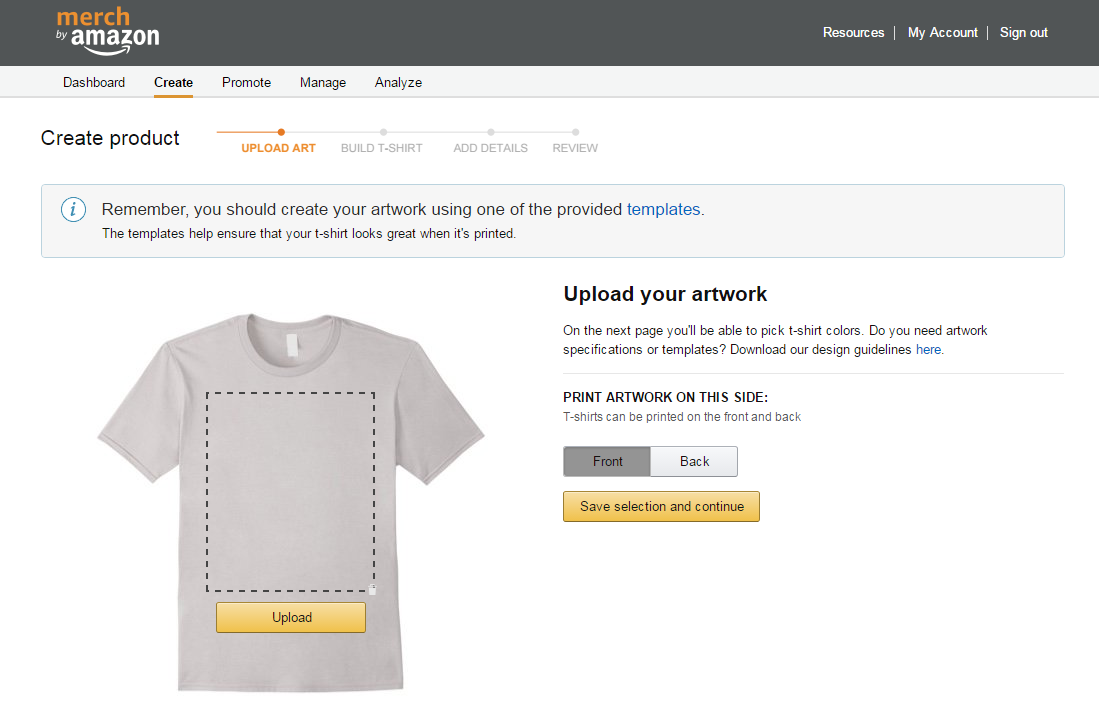 Merch by amazon clipart size graphic Merch By Amazon Tutorial - How To Get Started Creating Your ... graphic
