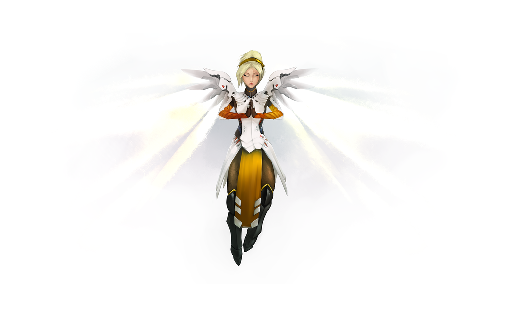 Mercy clipart overwatch png transparent DeviantArt: More Like Overwatch - Mercy by alextiama png transparent