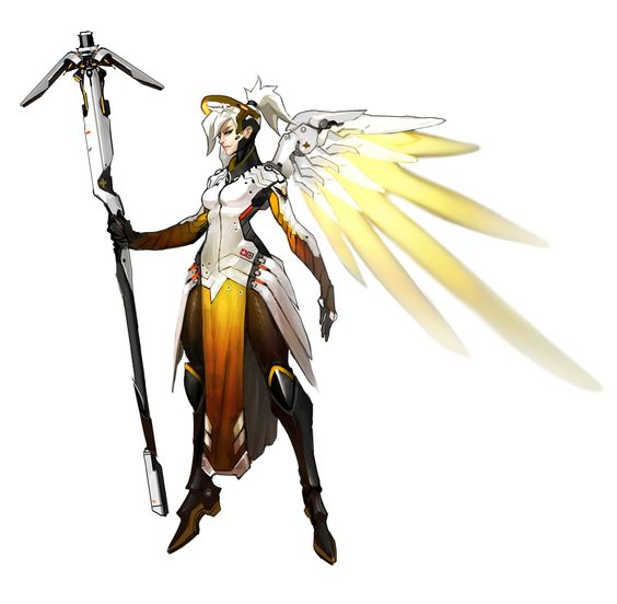 Mercy clipart overwatch vector library library Overwatch - Mercy Concept, Arnold Tsang on ArtStation at http ... vector library library
