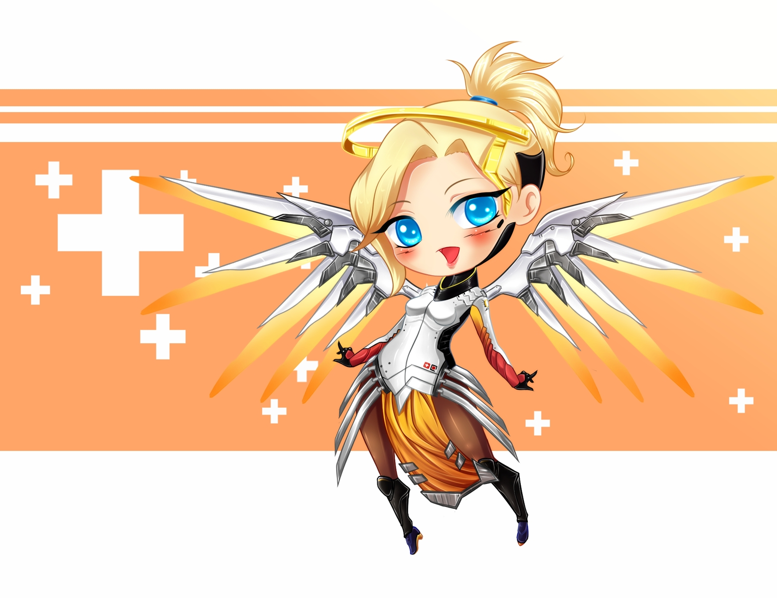 Mercy clipart overwatch picture library stock Mercy (Overwatch)/#2052418 - Zerochan picture library stock