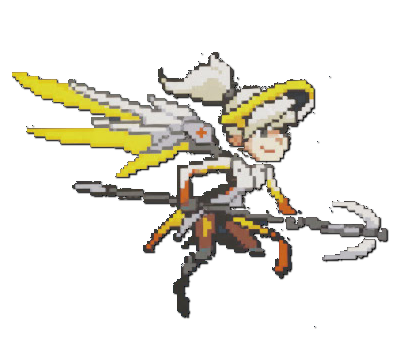 Mercy clipart overwatch png library library Steam Community :: Guide ::  png library library