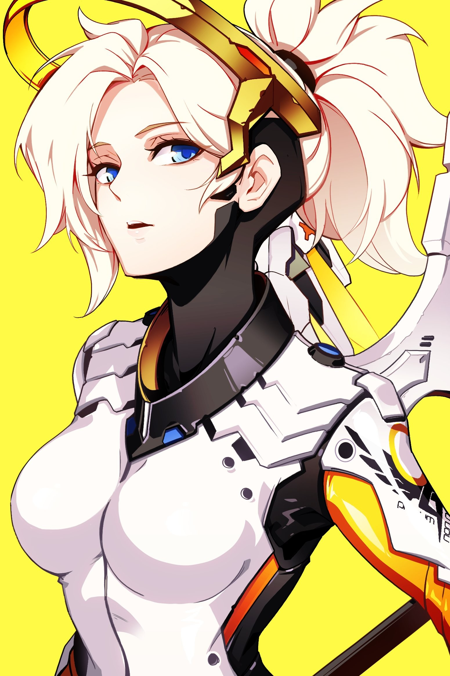 Mercy clipart overwatch svg transparent stock Anime 1551x2327 anime anime girls Overwatch Mercy Mercy (Overwatch ... svg transparent stock