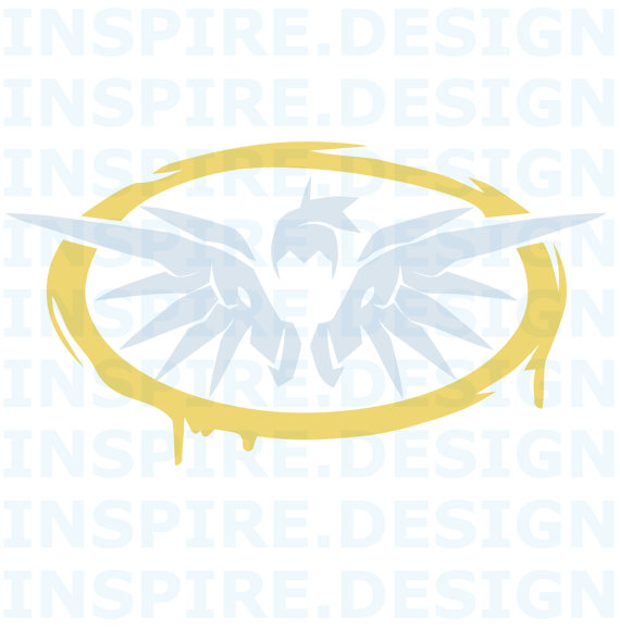 Mercy clipart overwatch png free download Mercy Decal png free download
