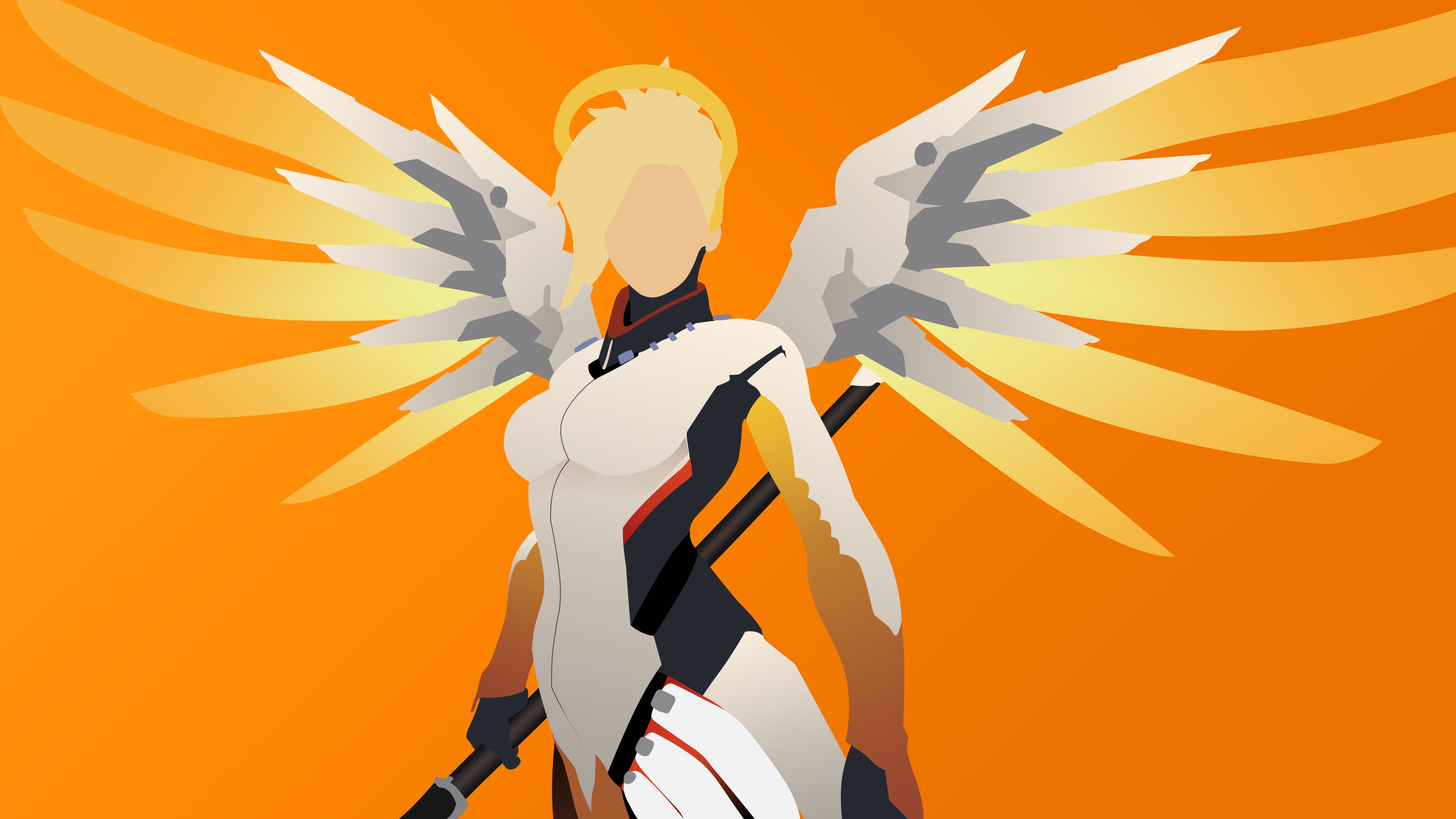 Mercy clipart overwatch vector royalty free download Mercy - Overwatch by The-Epic-Guy on DeviantArt vector royalty free download