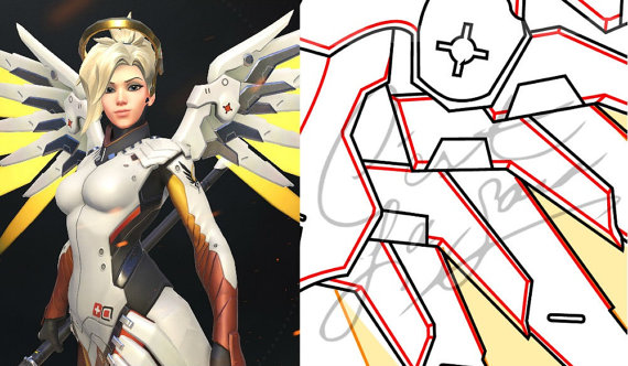 Mercy clipart overwatch clipart Mercy overwatch clipart - ClipartFest clipart