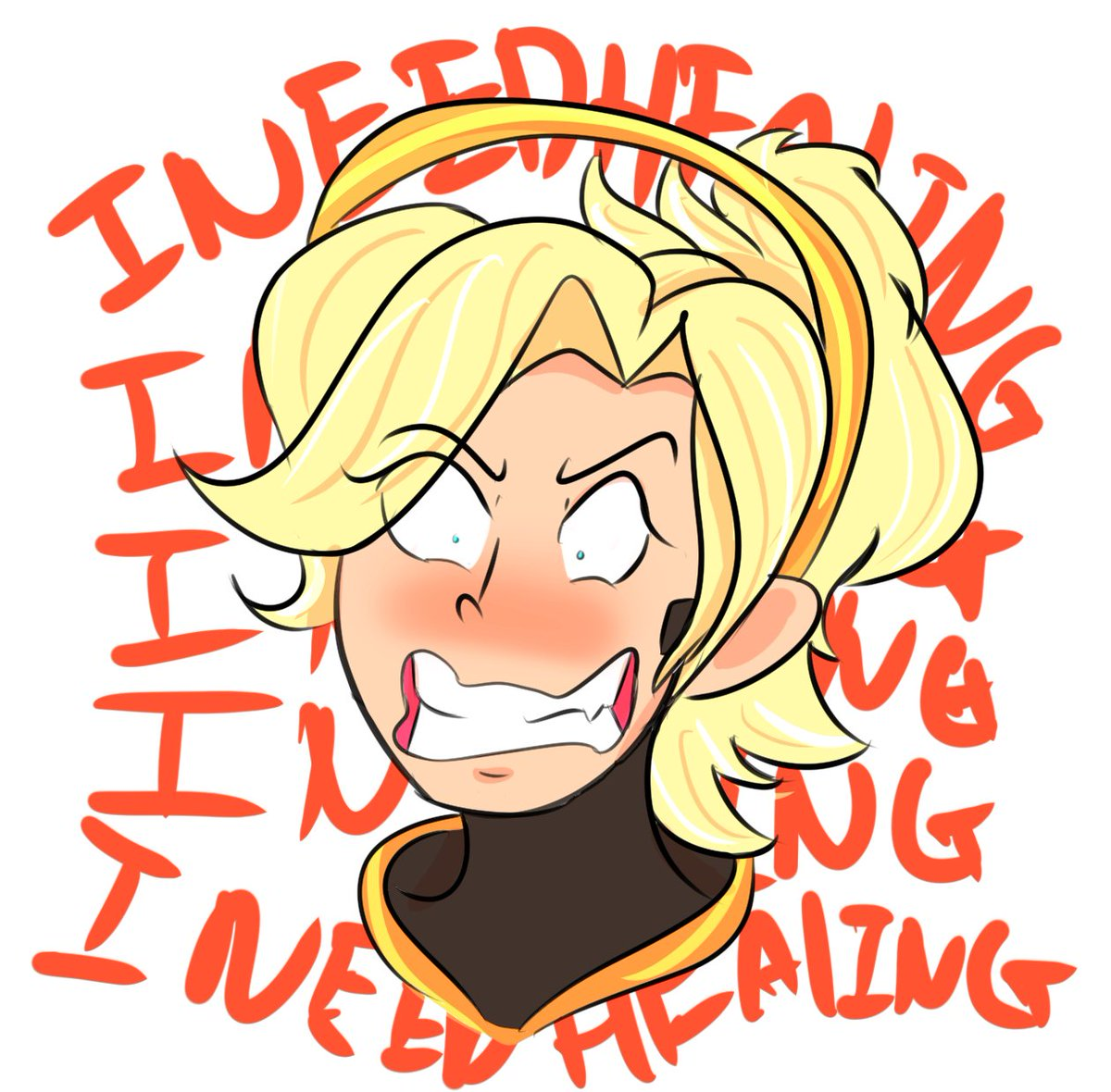 Mercy clipart overwatch clip art royalty free jo3mm on Twitter: