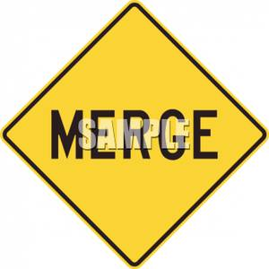 Merge sign clipart image download Merge Road Sign - Royalty Free Clipart Picture image download