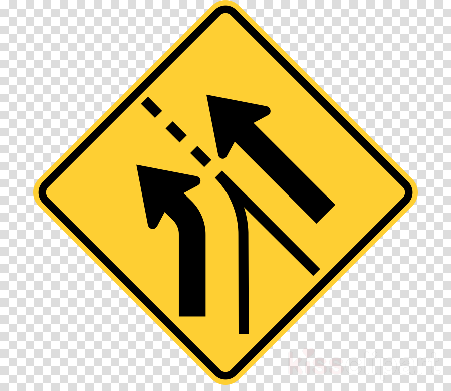 Merge sign clipart clip art black and white stock Traffic Sign, Sign, Road, transparent png image & clipart ... clip art black and white stock