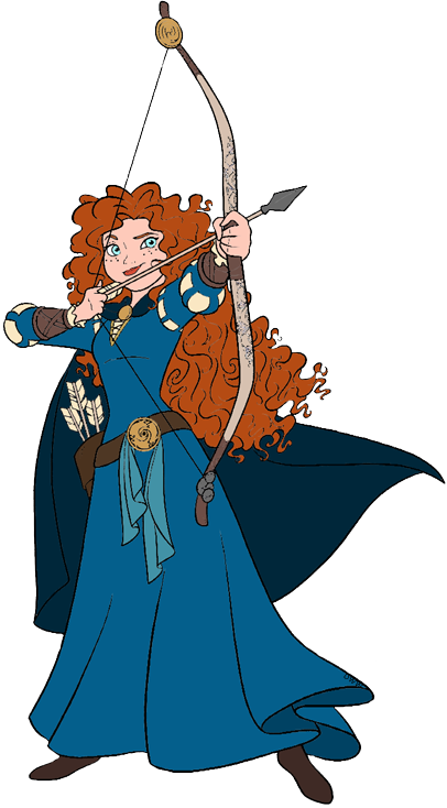 Merida brave clipart graphic library download Disney Pixar\'s Brave Clip Art | Disney Clip Art Galore graphic library download