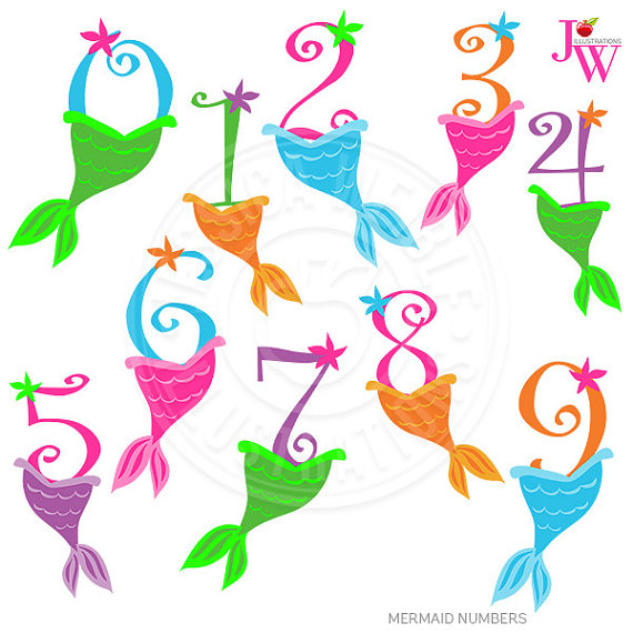 Mermaid number 1 clipart png transparent download Mermaid number 1 clipart - ClipartFest png transparent download