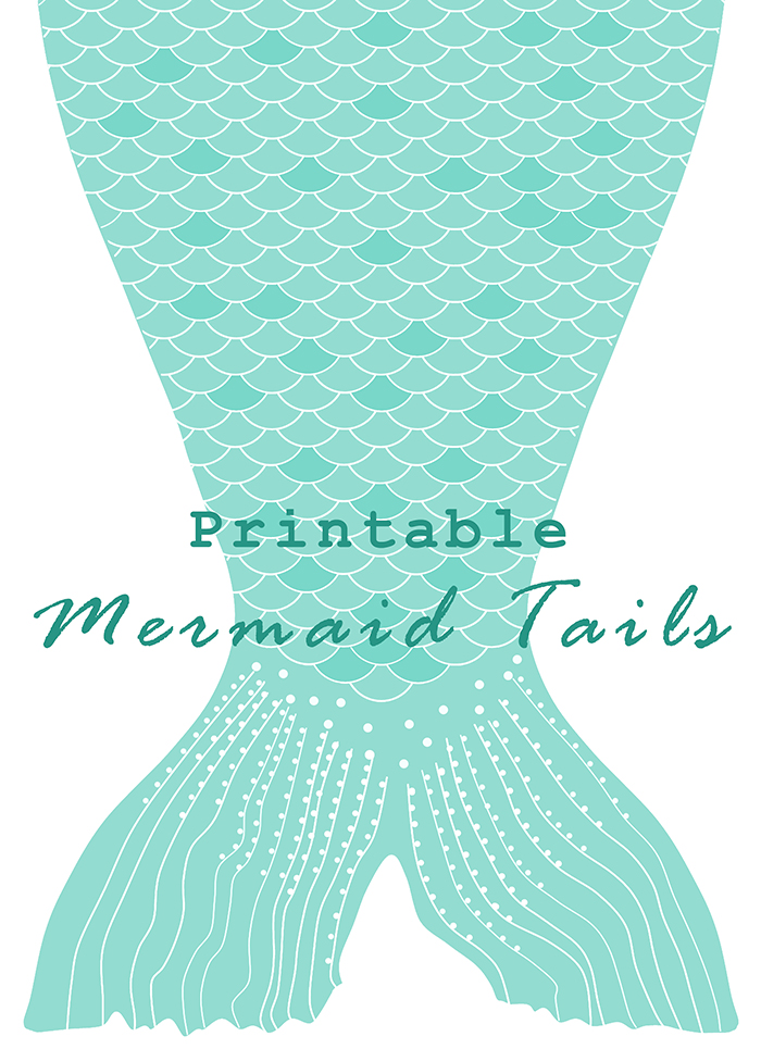 Mermaid tail outline clipart jpg black and white stock DIY Printable Paper Mermaid Tails | Anne-Marie Broughton jpg black and white stock
